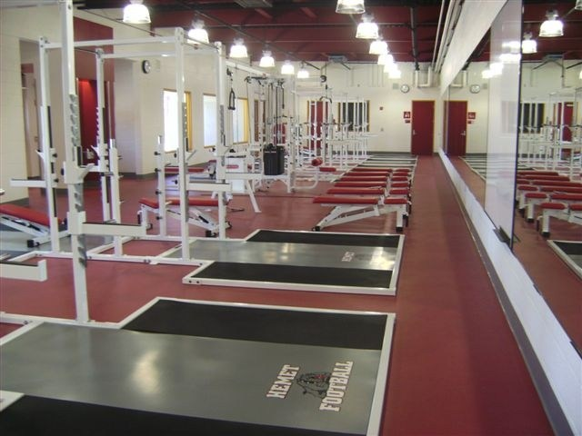 Hemet High School New Weight Room