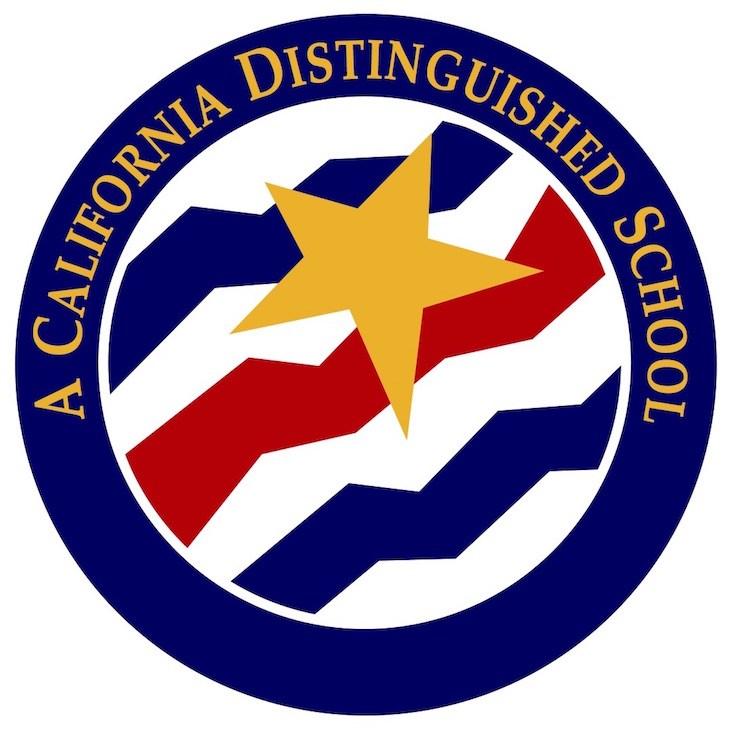 California Distinguished School Award logo