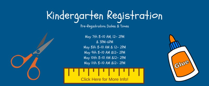 Kindergarten Pre-Registration Thumbnail Image
