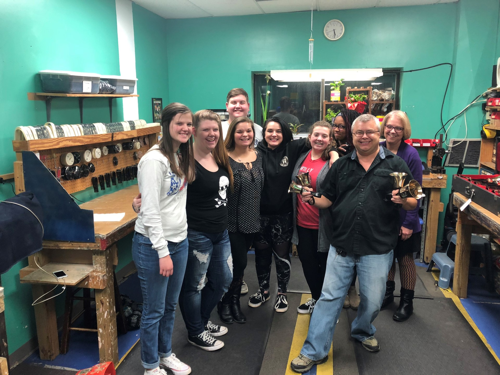 DHS Handbell Choir Fall Workshop