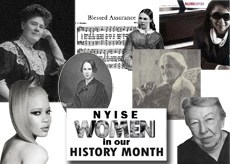 NYISE Women in our History Month Images of 7 NYI historical women