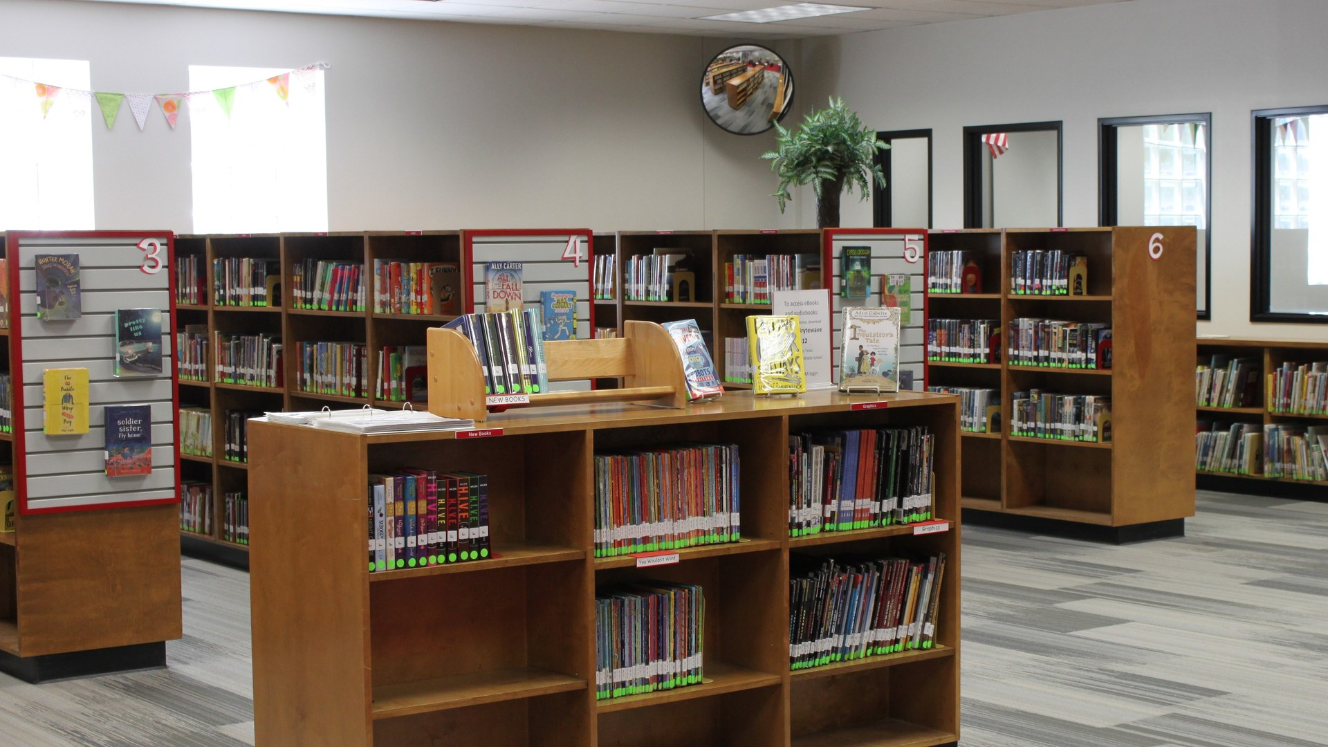 Lorena Middle School Library Media Center