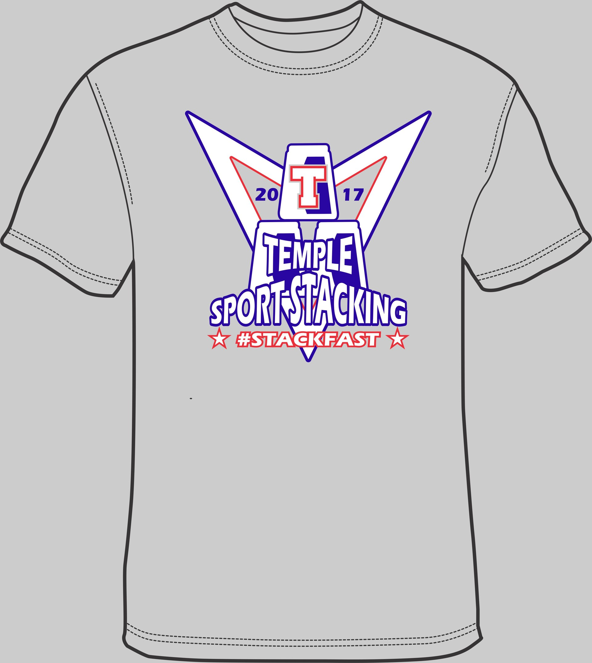Sportstacking t-shirts $10.00-Money due Sept. 20th