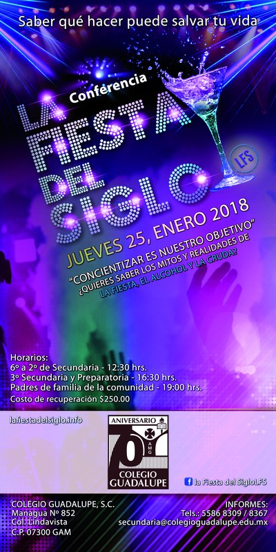 ¡No te pierdas La Fiesta del Siglo! Featured Photo