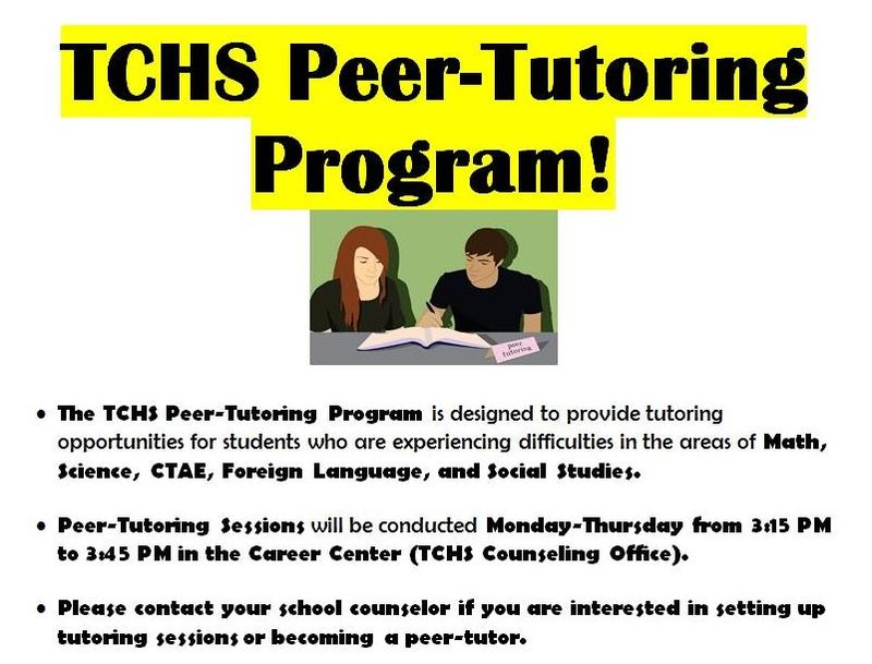 TCHS offers Peer-Tutoring Featured Photo
