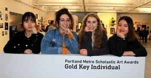 PCS Gold Key Regional Scholastic Art winners 2018