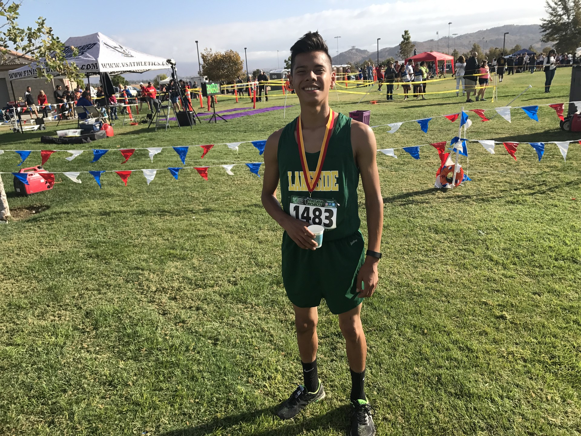 Jesse Carrillo got 13th place out of 161 runners last Saturday!