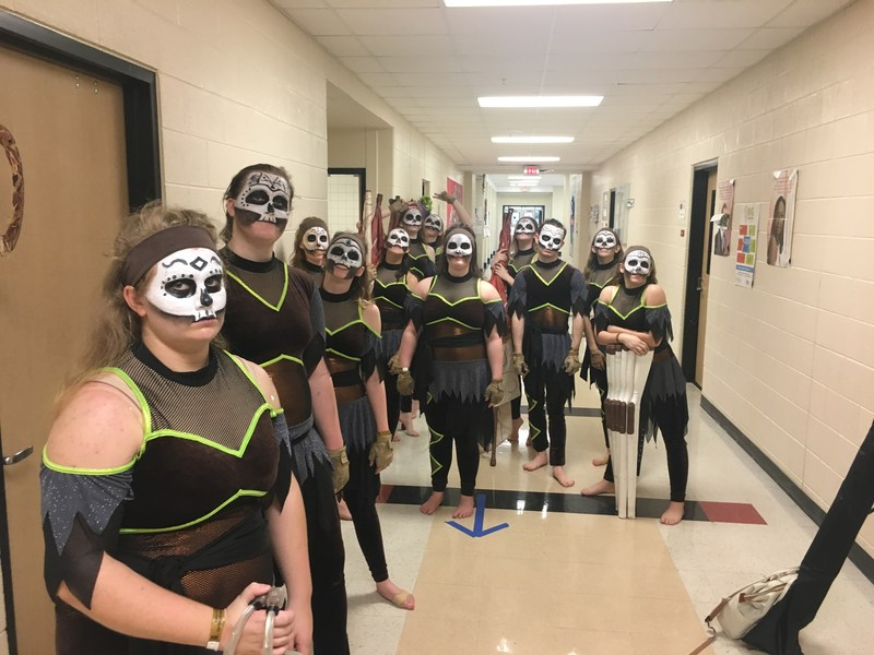 Winter Guard Earns Division 1 Ratings & 5th Overall Placing in Saginaw Thumbnail Image