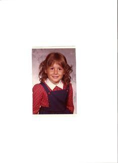 Mrs. Kendall in Kindergarten