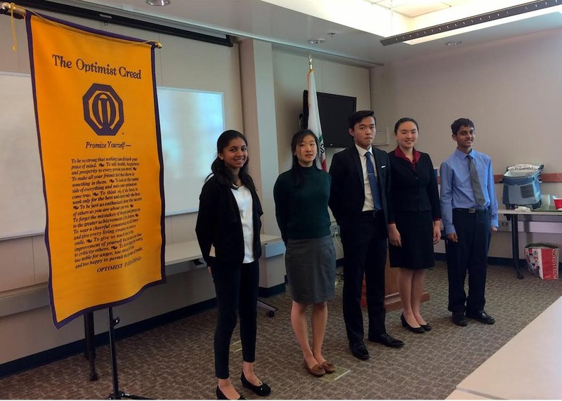 Moreland Middle School Students Place at County Optimist Speech Contest Thumbnail Image