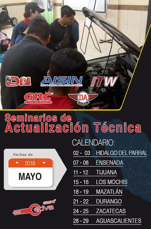 Continúan los seminarios de actualización técnica Featured Photo