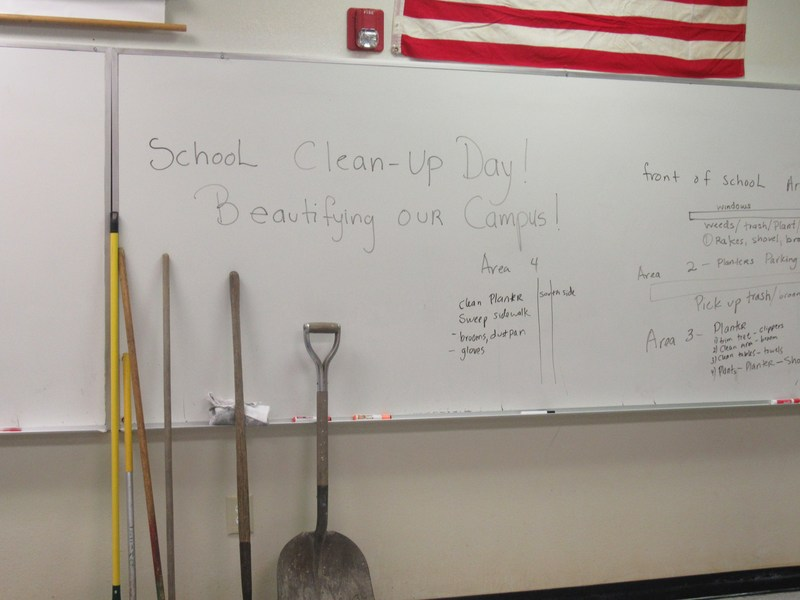 LCAS' Great School Clean-Up Day Featured Photo
