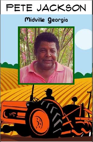 Pete Jackson, farmer