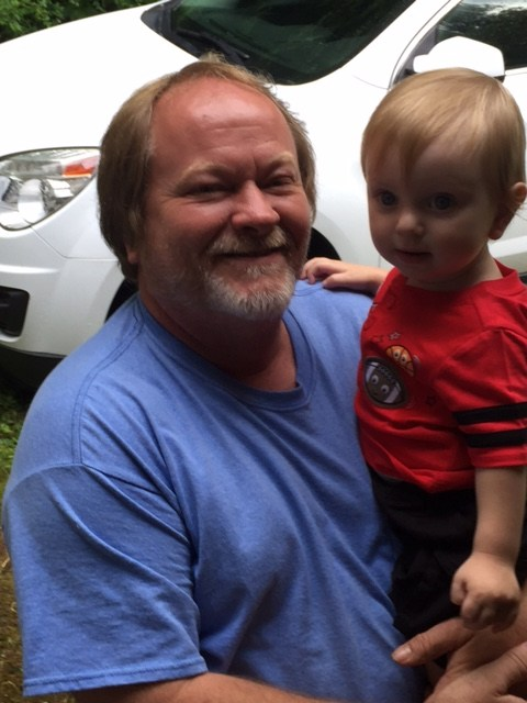 Mr. Dyer and grandson