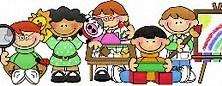 MANY CHILDREN DOING ACTIVITIES