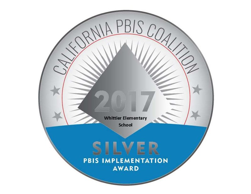 PBIS Silver Recognition