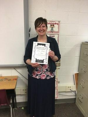 Jessica Duersch, Tooele County School District Guest Teacher for 2016-2017.