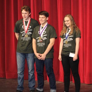 Tyler Goodrich, Jason Avila and Christa Unger were Lakeside Top 3 Score Contenders