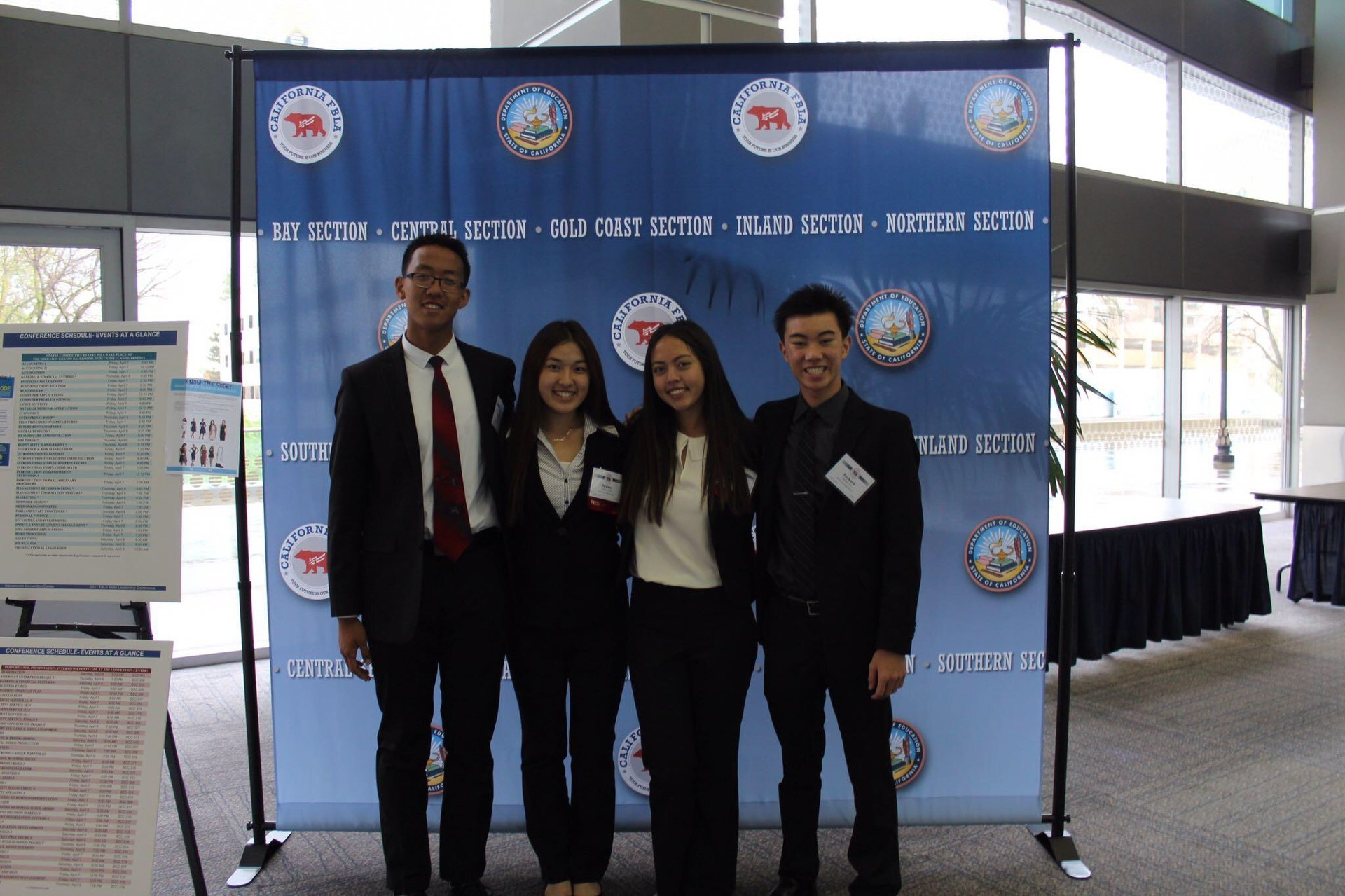 State winners at State Leadership Conference Sacramento California