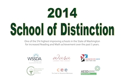 2014 School of Distinction Banner
