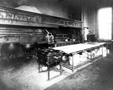 The 1890 NYI kitchen