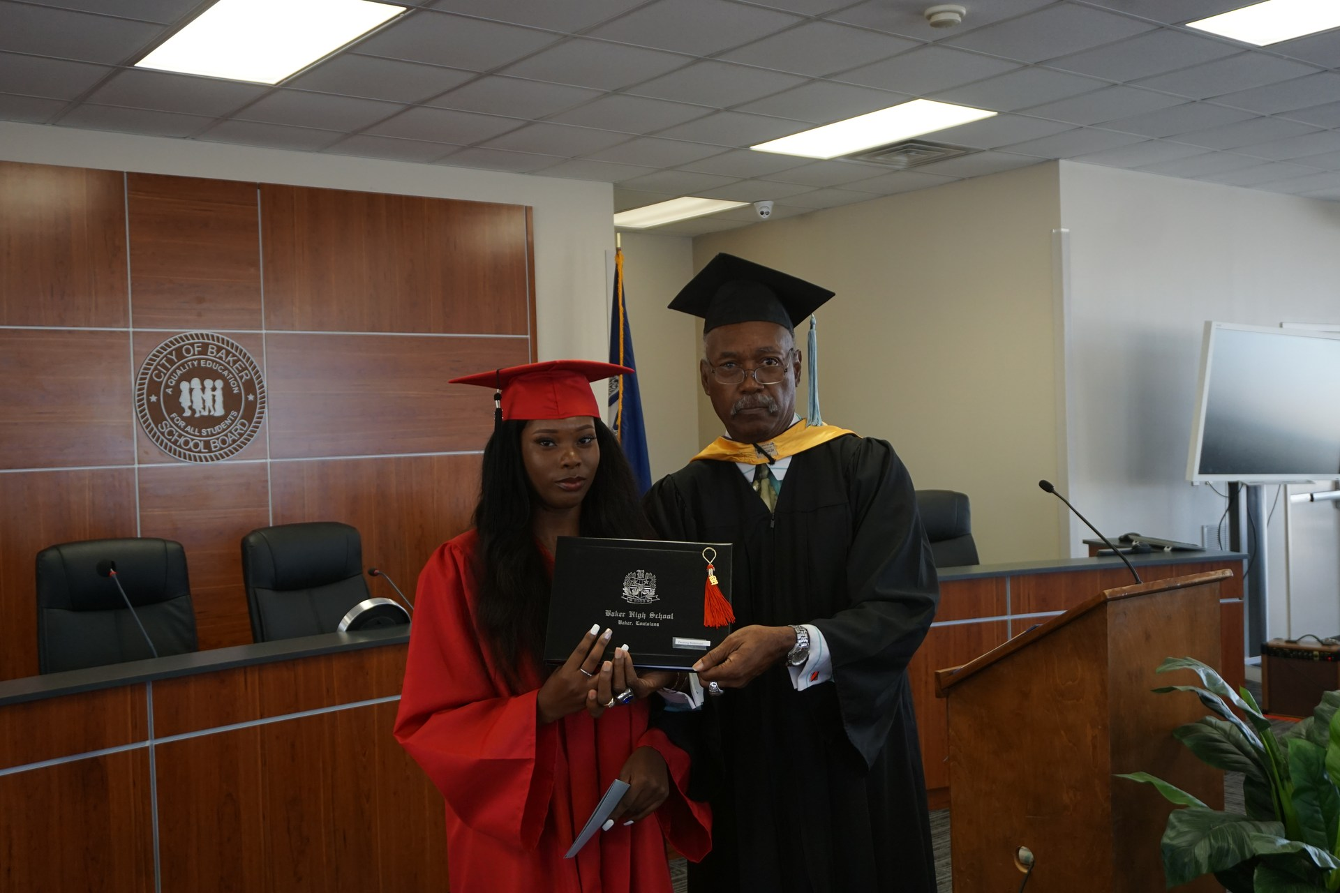 A photo from the Alternative Learning Center May 28, 2018 Graduation