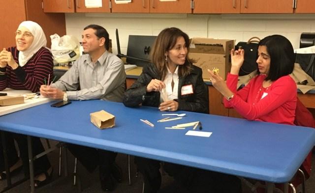 Parent Academy STEM guests/participants
