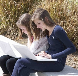 Image of Students on MacBooks