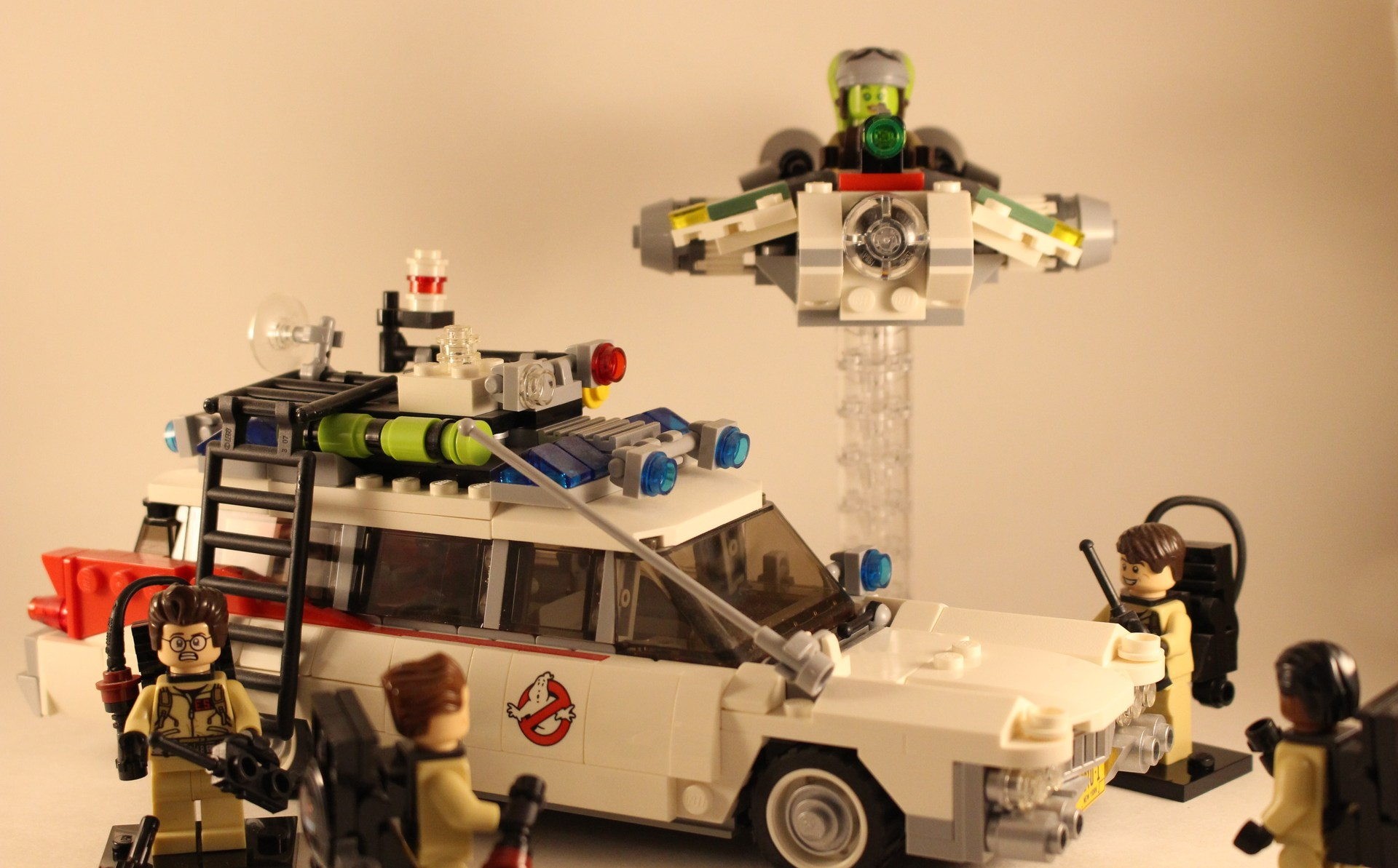 LEGO Ghostbusters vs Star Wars Ghost
