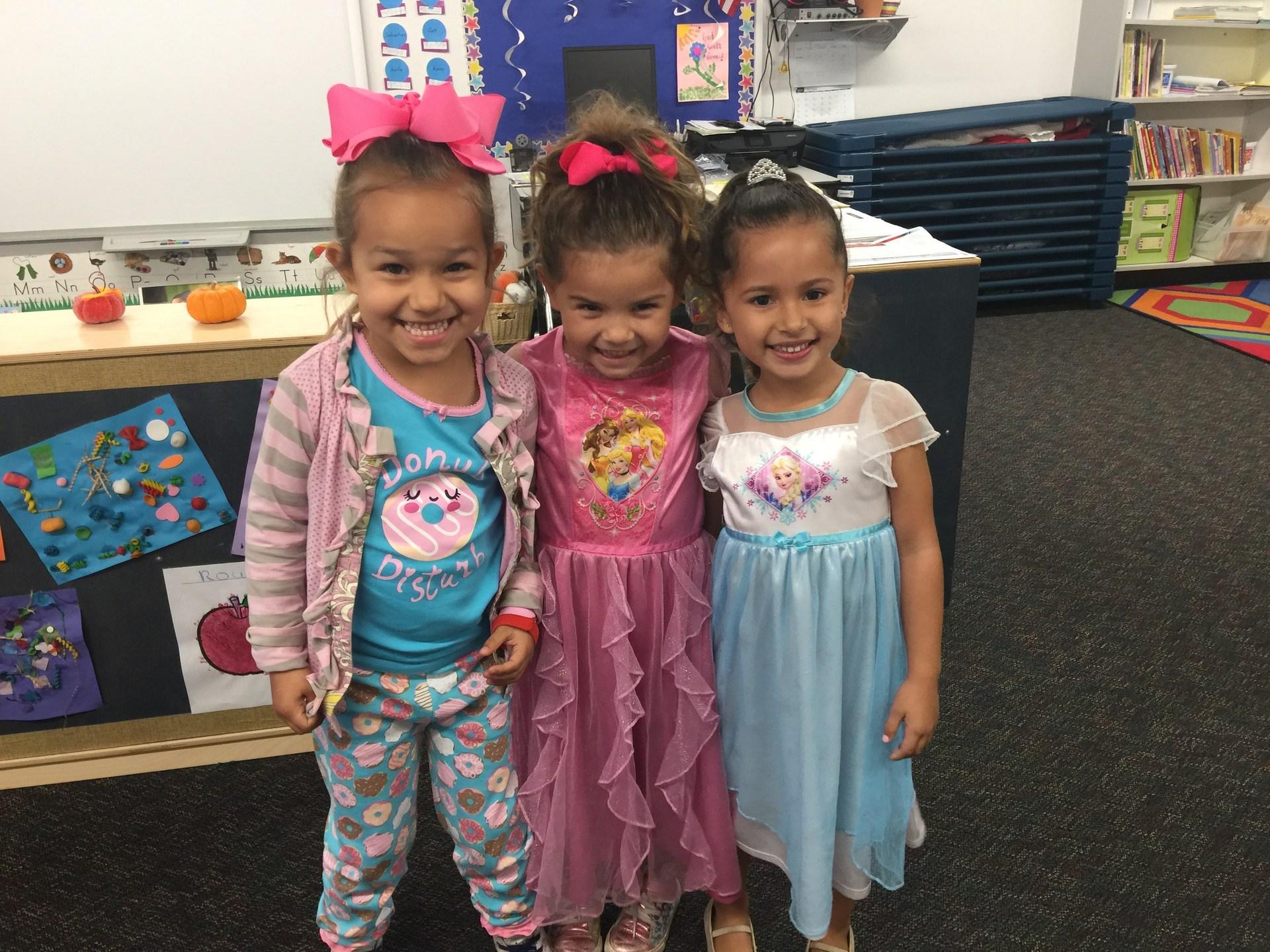 Pajama Day Princesses!
