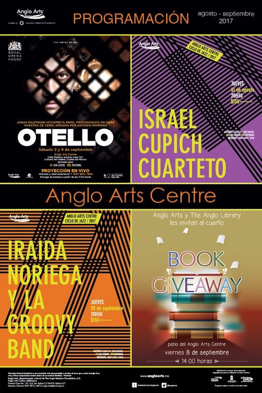 Cartelera Anglo Arts Centre