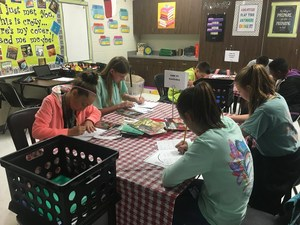 students working on book tasting- Mims.jpg
