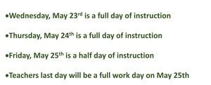 Additional school days