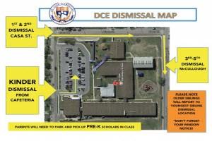 Dr. Cash Elementary Dismissal Map Thumbnail