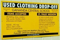 Used Clothing Drop Off