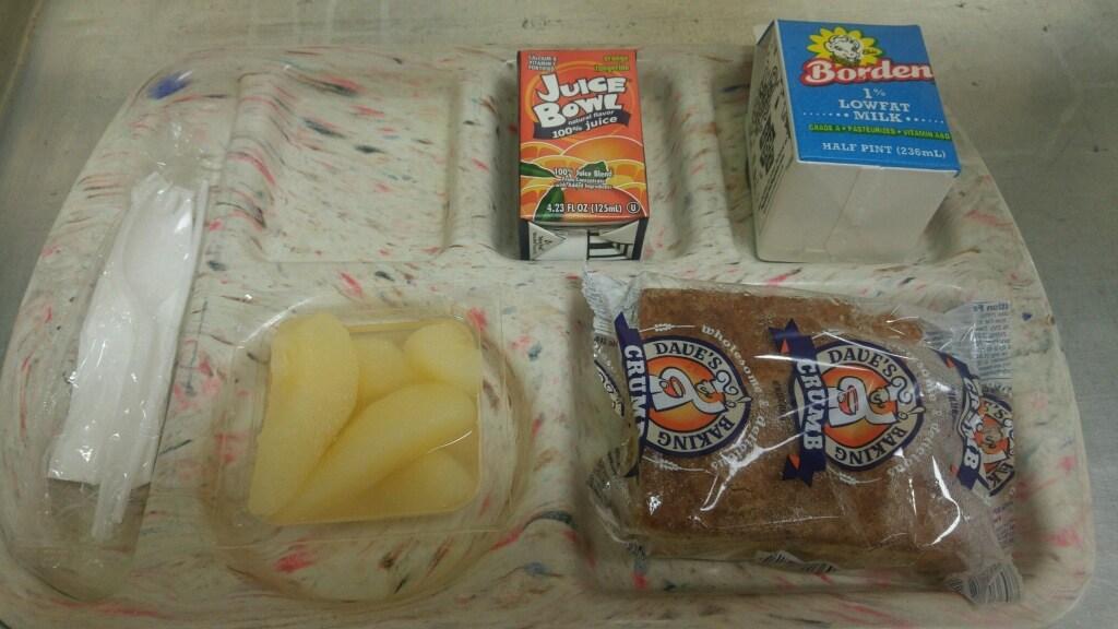 crumb square breakfast tray