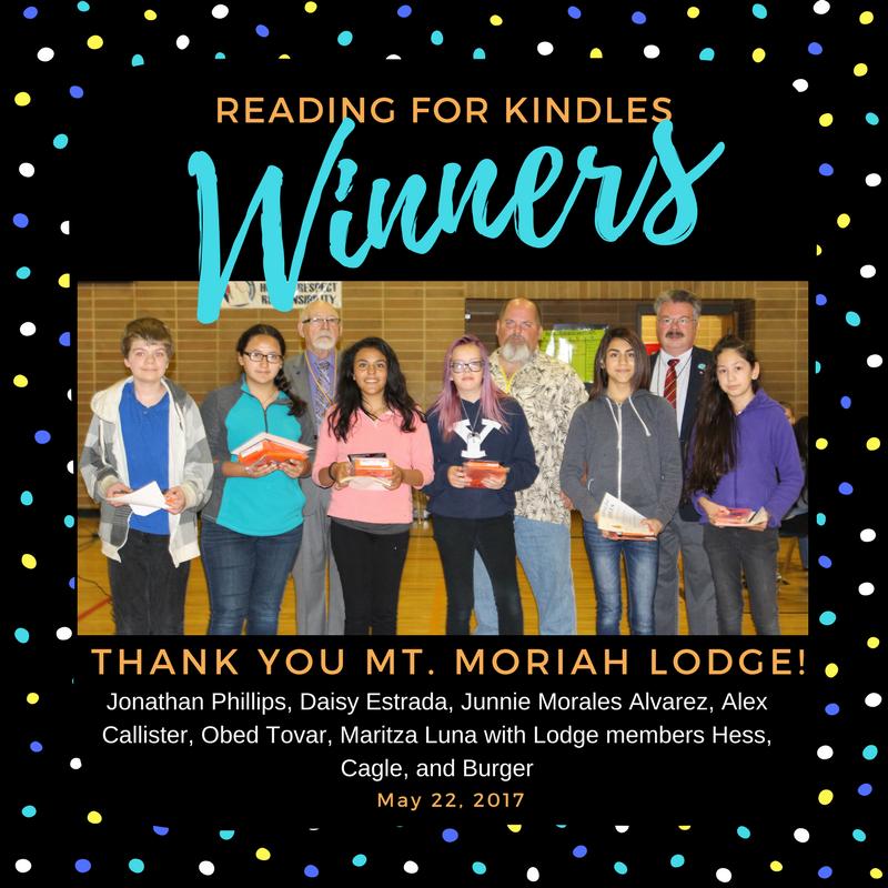Reading for Kindles Winner! Thumbnail Image