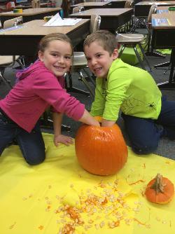 Pumpkin Math Logo