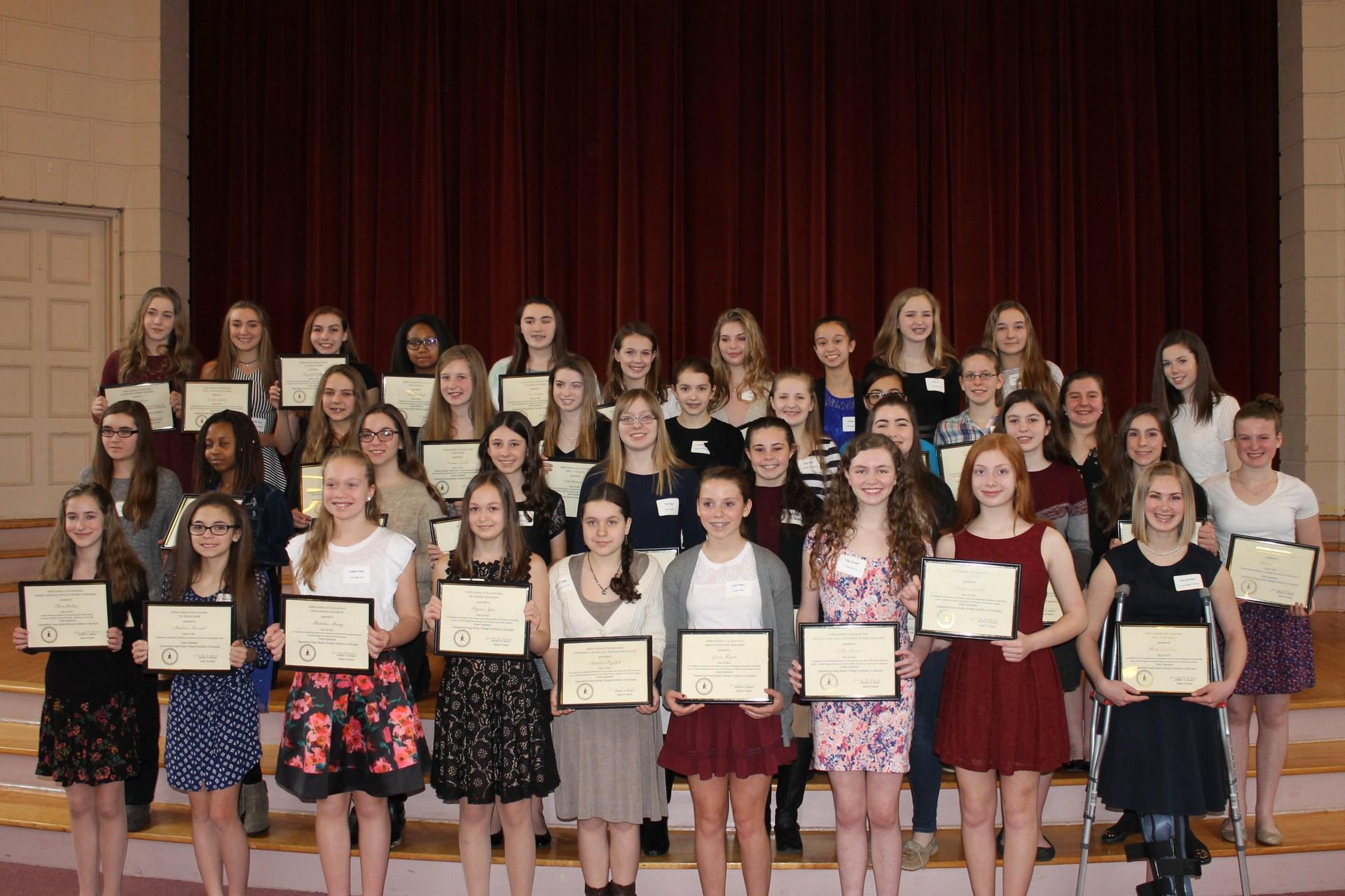 Support SHA- Scholarships- Recipients