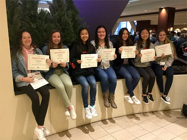 The Triton Yearbook awards at JEA