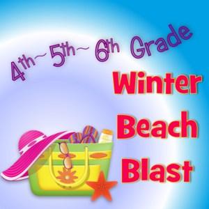 winter beach blast logo