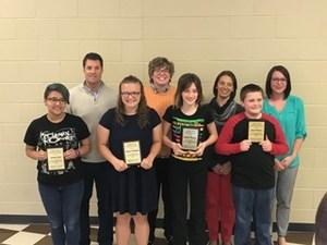 Kathy Swan Award winning Students