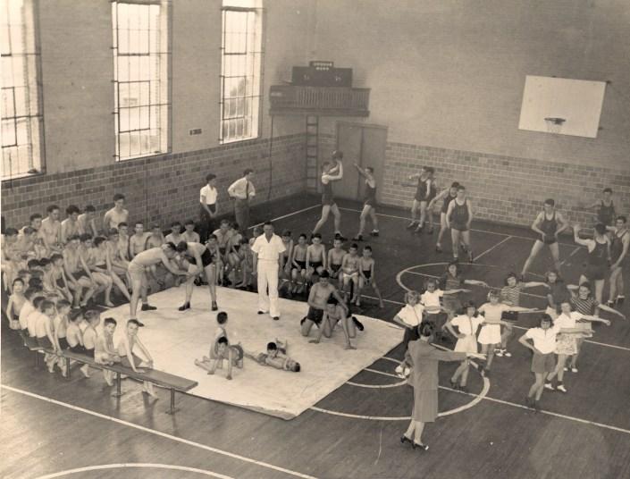 1946 Gym Activities