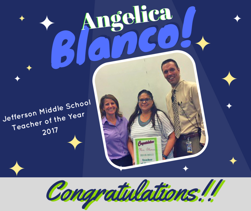 Congratulations to our Teacher of the Year!! Thumbnail Image