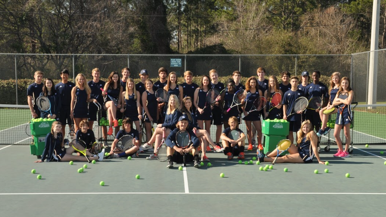 tennis team group photo
