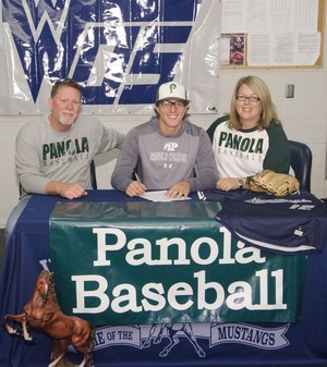 Senior signs baseball commitment with Panola