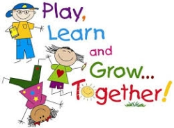 Play, Learn and Grow together with pictures of children