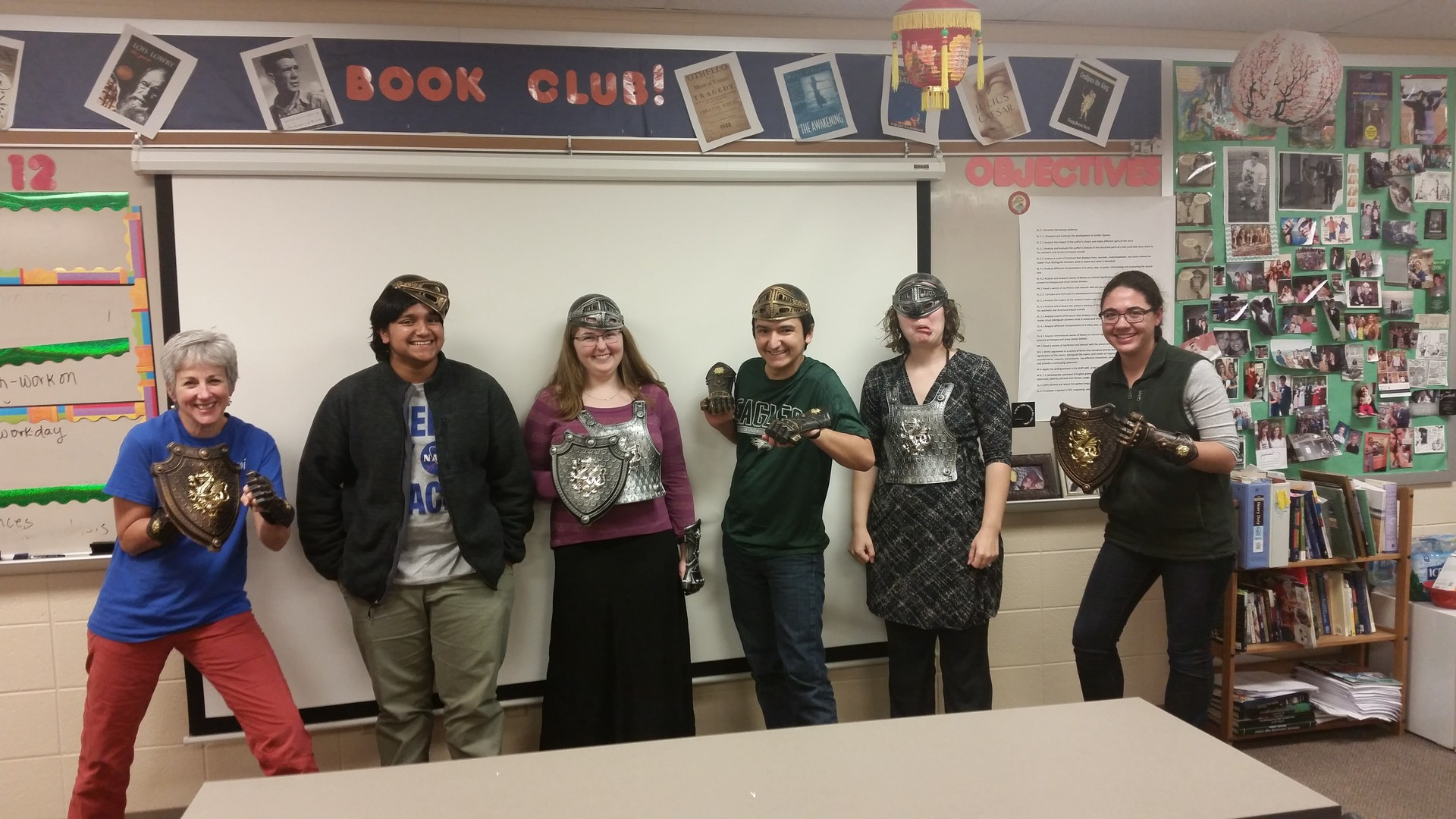 Book Club Goes Medieval!