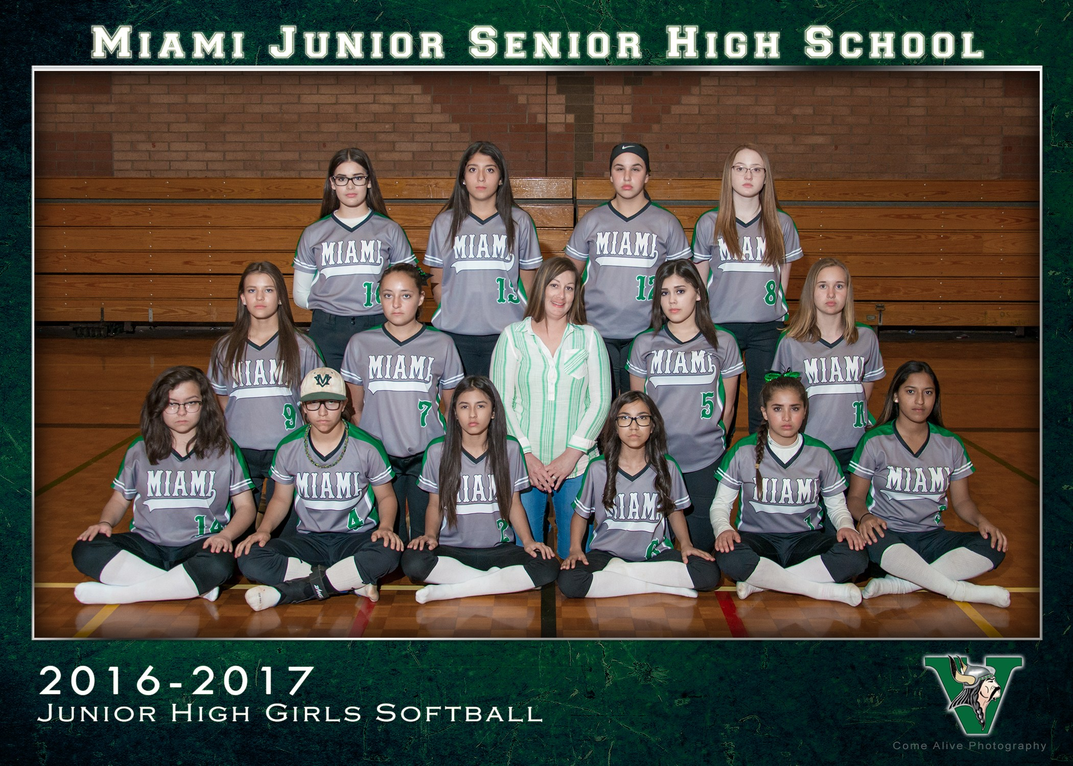 Junior High Girls Baseball