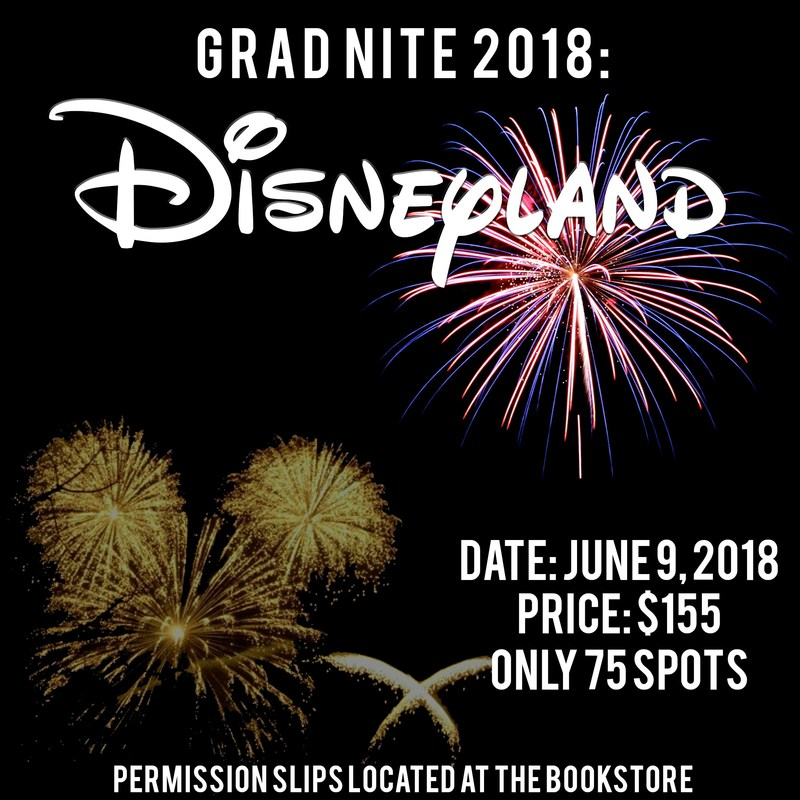 Gradnight at Disneyland - June 9, 2018 Thumbnail Image